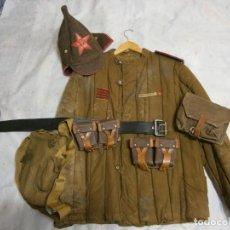 Militaria: LOTE SOVIETICO + GUERRA FRIA + GUERRA MUNDIAL + MILITAR + ORIGINAL + GASTOS DE ENVIO INCLUIDOS. Lote 235846410