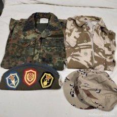 Militaria: LOTE CAMUFLAJE , INGLÉS ,COMUNISTA , ALEMÁN. Lote 238879240