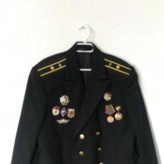 Militaria: GUERRERA SOVIETICA DE LA MARINA. Lote 242386195