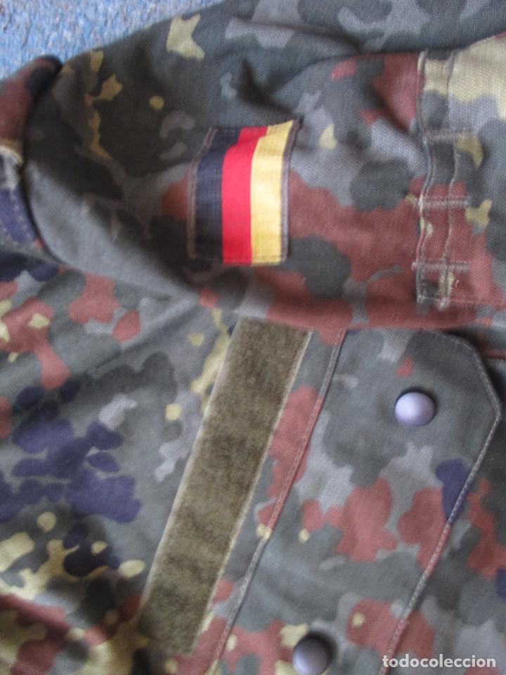 Militaria: BONITA CHAQUETA GRAN CALIDAD , DEL EJERCITO ALEMAN EN CAMUFLAJE FLECKTARN , NUEVA - Foto 2 - 244178535