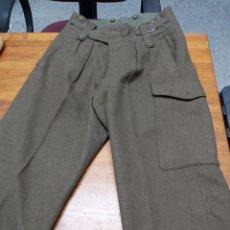 Militaria: PANTALON BRITANICO BATTLE DRESS, AÑO 1955 TALLA 9 INGLESA,. Lote 251581405