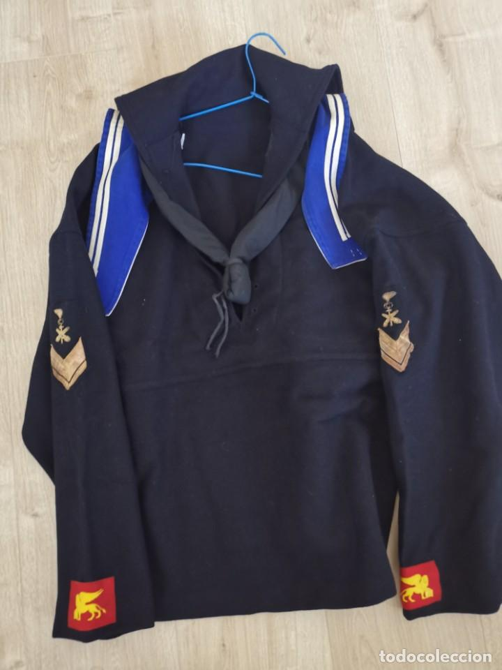 UNIFORME DEL BATTAGLIONE SAN MARCO/INF, DE MARINA ITALIANA/UNIDAD DE ELITE(AÑOS 50) (Militar - Uniformes Internacionales)