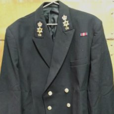 Militaria: CHAQUETA DE UNIFORME AZUL MARINA BRITÁNICA. Lote 263704095