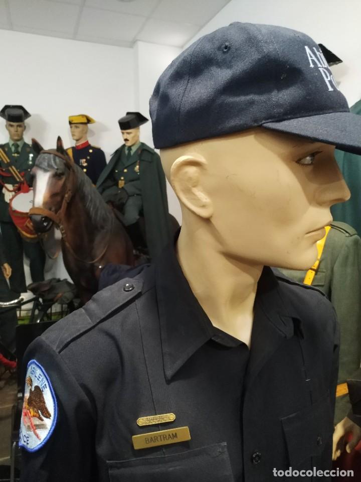 Militaria: UNIFORME POLICIA ABILENE ESTADOIS UNIDOS DE AMERICA . PANTALON, CAMISA CON PARCHES GORRA PARCHE - Foto 2 - 277499408