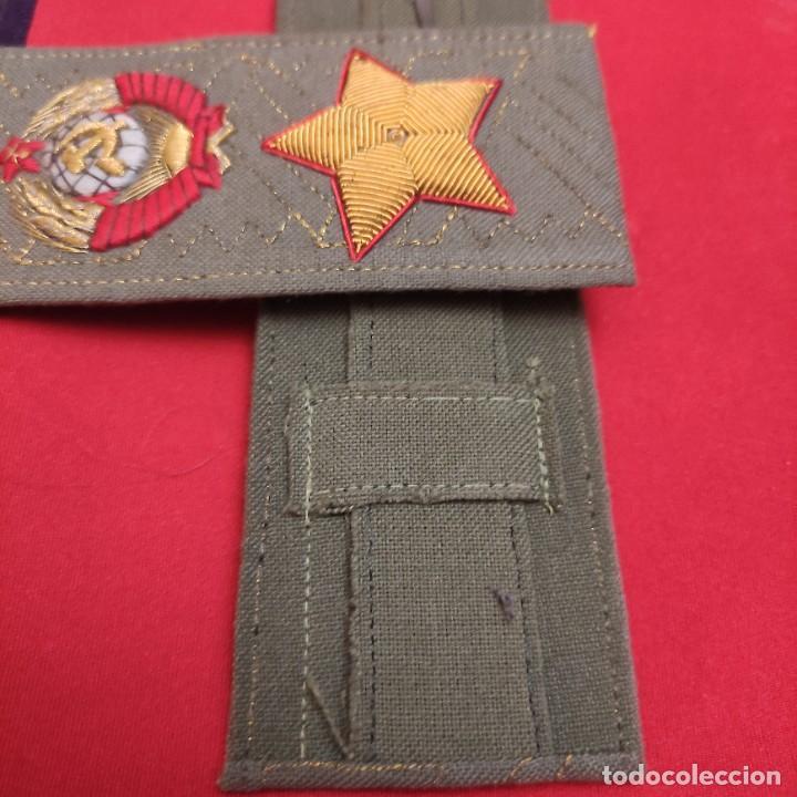Militaria: Hombreras de general soviético - Foto 2 - 287404553