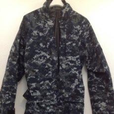 Militaria: EXCELENTE PARKA CHAQUETÓN PIXELADO AZUL MILITAR U.S.NAVY USA. Lote 292943828