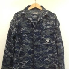 Militaria: UNIFORME MILITAR AZUL PIXELADO U.S.NAVY USA. Lote 292952058