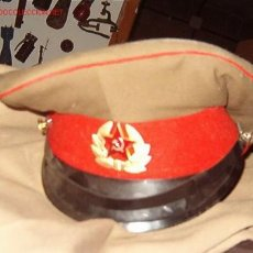 Militaria: GORRA PLATO RUSA.. Lote 17489695