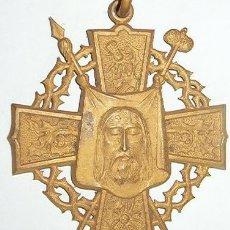 Militaria: MEDALLÓN RELIGIOSO MACIZO. Lote 6055581