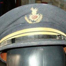 Militaria: GORRA PLATO, POLICIA MUNICIPAL VALENCIA. Lote 25169151