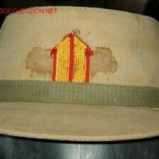 Militaria: GORRA DE FAENA DE BRIGADA, CON VISERA CORTA. Lote 18663528