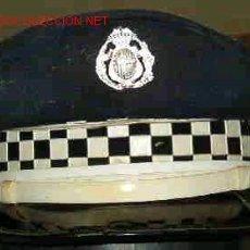 Militaria: GORRA PLATO, POLICIA MUNICIPAL.. Lote 20327279