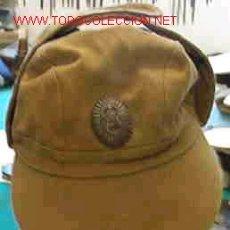 Militaria: GORRA MONTAÑERA CON OREJERAS AFGANISTAN, RUSA. Lote 14500658