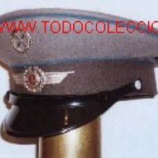 Militaria: GORRA DE PLATO AVIACIÓN MILITAR,RDA.. Lote 15678446