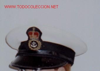 GORRA DE PLATO MARINA INGLESA. (Militar - Boinas y Gorras )