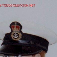 Militaria: GORRA DE PLATO MARINA INGLESA.. Lote 15678453