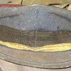 Militaria: GORRA DE PLATO DE AVIACIÓN SIN INSIGNIA. Lote 15085675