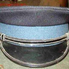 Militaria: GORRA DE PLATO FRANCESA CON BOTÓN, SIN INSIGNIA. Lote 14342933