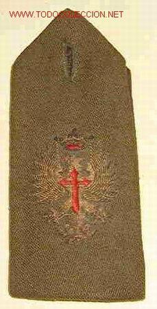 HOMBRERA CON ÁGUILA BORDADA (Militar - Otros relacionados con uniformes )