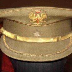 Militaria: GORRA DE PLATO COMANDANTE. Lote 25168984