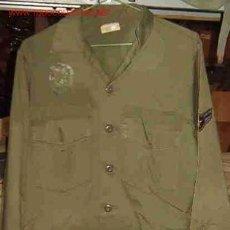 Militaria: CAMISOLA DE MANGA LARGA, AÑOS 80, TALLA 42. Lote 3034798
