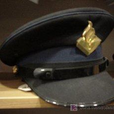 Militaria - Holanda. Gorra de plato. Policía local. - 3059917