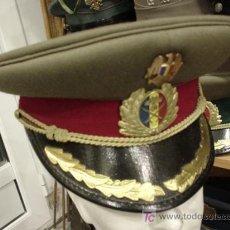 Militaria: GORRA DE PLATO. ACTUAL. INFANTERÍA. CORONEL.. Lote 3060066