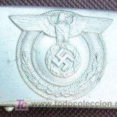 Militaria: HEBILLA DE ALUMINIO DEL A S-WEHRMANNSCHAFT. RJUL06.39. Lote 13152988