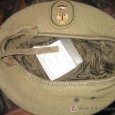 Militaria: BOINA DEL EJÉRCITO DE TIERRA, TALLA 59. Lote 4336495