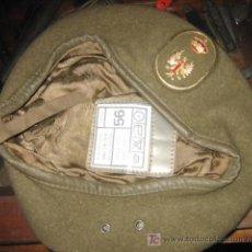 Militaria: BOINA DEL EJÉRCITO DE TIERRA, TALLA 56. Lote 5255218
