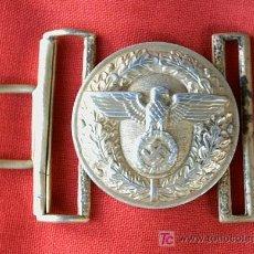 Militaria: HEBILLA ALEMANA 2ª GUERRA MUNDIAL LIDER POLITICO III REICH. Lote 27526021