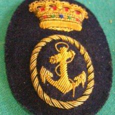 Militaria: GALLETA GORRA PLATO DE MARINA. Lote 4935272