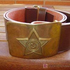 Militaria: CINTURÓN SOVIÉTICO, AÑOS 70. Lote 26645757