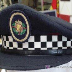 Militaria: GORRA DE PLATO. POLICÍA MUNICIPAL. VALLADOLID. Lote 5254772