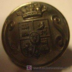 Militaria: BOTÓN CUERPO DE SEGURIDAD, ALFONSO XIII. Lote 24166864