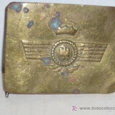 Militaria: HEBILLA DE AVIACION EPOCA DE FRANCO. Lote 5607295