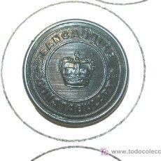 Militaria: BOTON POLICIA INGLES. Lote 5715595