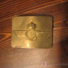 Militaria: ANTIGUA HEBILLA DEL EJERCITO DEL AIRE.. Lote 27249534