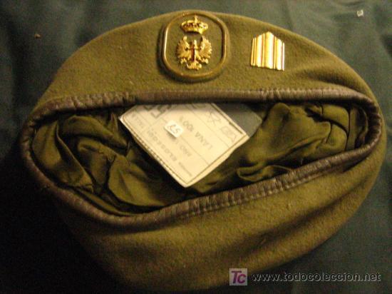 BOINA DEL EJÉRCITO DE TIERRA, TALLA 55 (Militar - Boinas y Gorras )