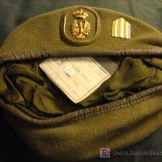 Militaria: BOINA DEL EJÉRCITO DE TIERRA, TALLA 55. Lote 6072894