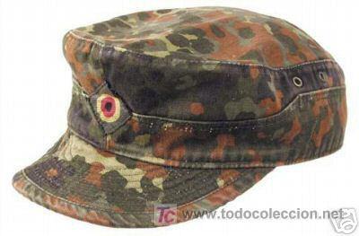gorra alemana de camuflaje - militar - alemania - Comprar Boinas y ... 097281809f3
