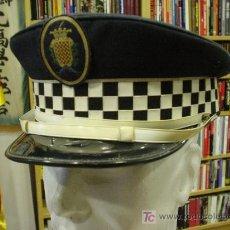 Militaria: ESPAÑA. GORRA DE PLATO. POLICÍA MUNICIPAL. TARRAGONA. Lote 6296186