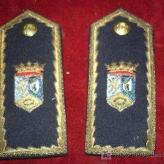 Militaria: HOMBRERAS DE JERARCA DE POLICIA MUNICIPAL DE MADRID?. Lote 27434646