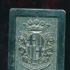 Militaria: HEBILLA DE LA GUARDIA URBANA DE BARCELONA. Lote 7384813