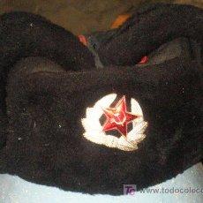 Militaria: GORRO RUSO, TALLA 59.. Lote 13161606