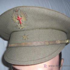 Militaria: GORRA DE ALFÉREZ DEL EJÉRCITO DE TIERRA. REGLAMENTO DEL 1943.. Lote 26784490