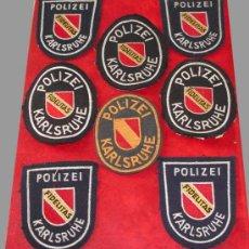 Militaria: GRAN LOTE DE 26 OBJETOS POLICIA ALEMANA 1940/50 . TOTALMENTE ORIGINALES!!. Lote 9071718