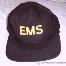 Militaria: GORRA -EMS- MADE IN USA. Lote 27574403