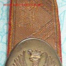 Militaria: BANDOLERA DE GALA.. Lote 1735578