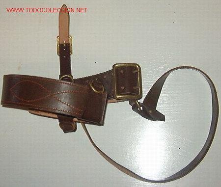 CORREAJE DE OFICIAL SOVIÉTICO (Militar - Cinturones y Hebillas )